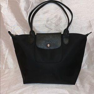 Longchamp Black Small Tote Bag